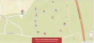 Pokemon Go kaart Efteling