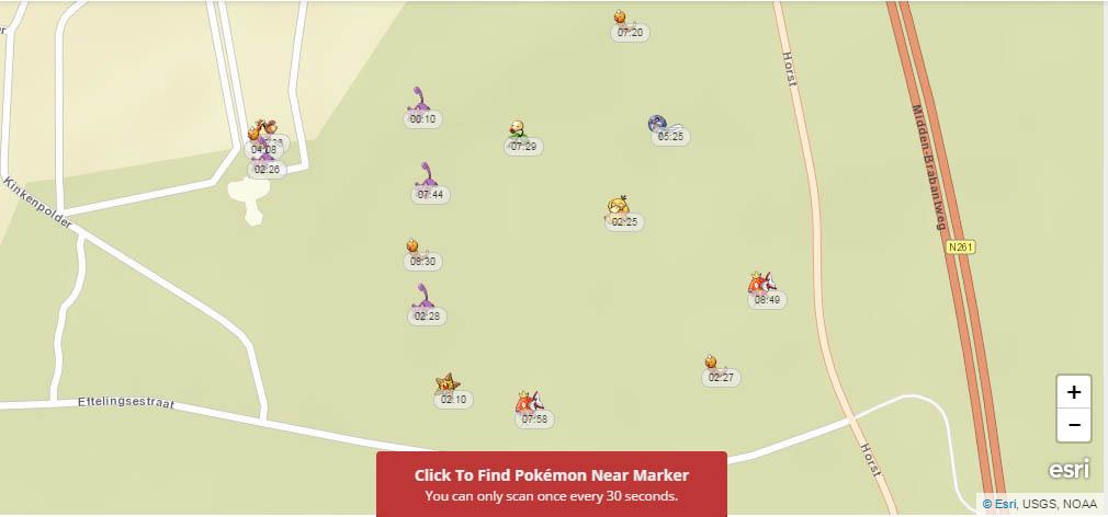 Pokemon kaart Efteling