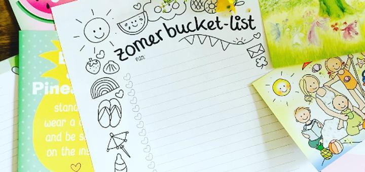 Zomer bucket list Yvonne de Boer