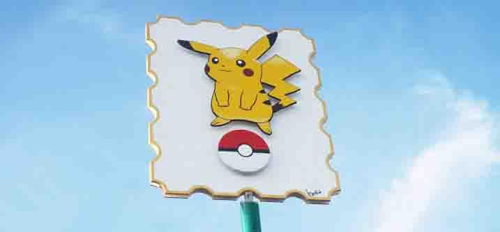 Kijkduin Pokemon Pikachu